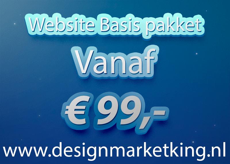 Webdesign voor een vaste lage prijs